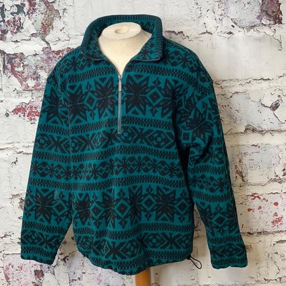 Men's Eddie Bauer fleece sweatshirt L